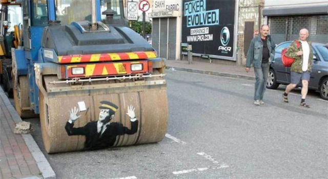 The Best 2010 Street Art Masterpieces