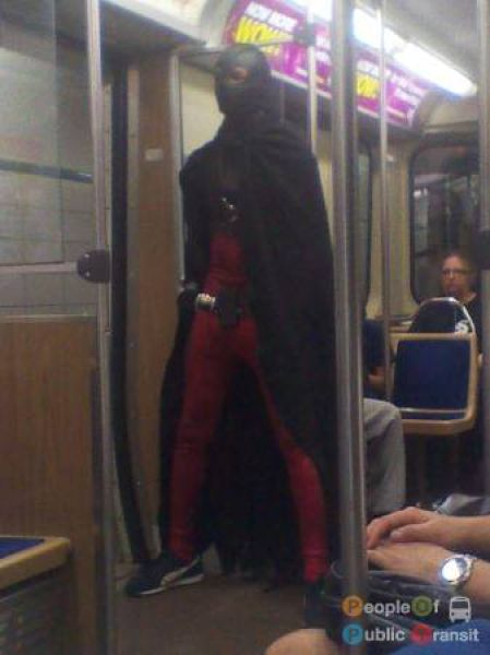 What You Can See in the Subway. Part 4