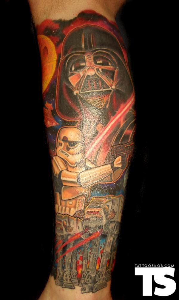 Star Wars Body Art