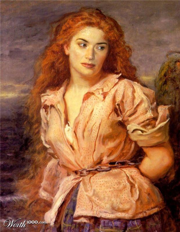 Renaissance Paintings of Modern Celebrities
