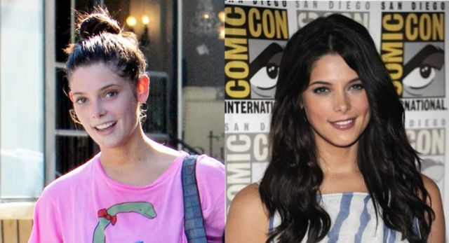 Celebs: Before and After Makeup