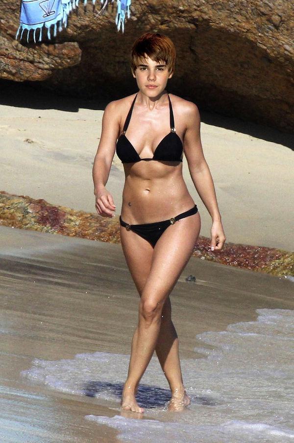 Bieber in Bikinis