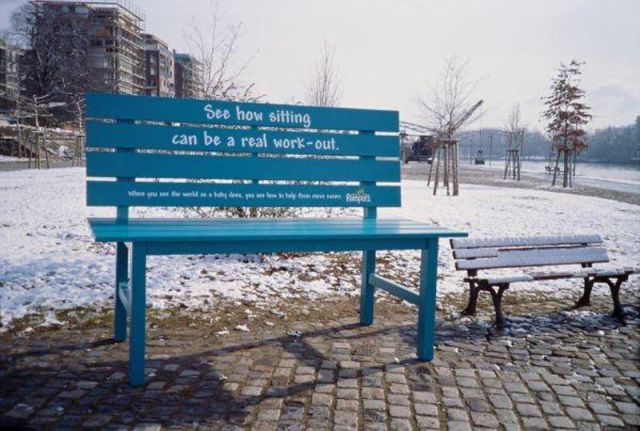 Creative Bench Advertising