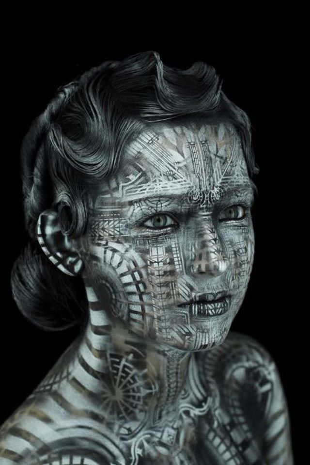 Fantastic Body Paintings by Michael Rosner