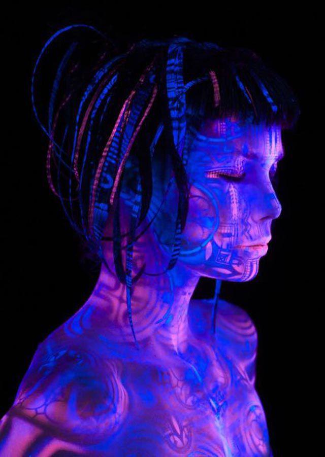 Fantastic Body Paintings by Michael Rosner