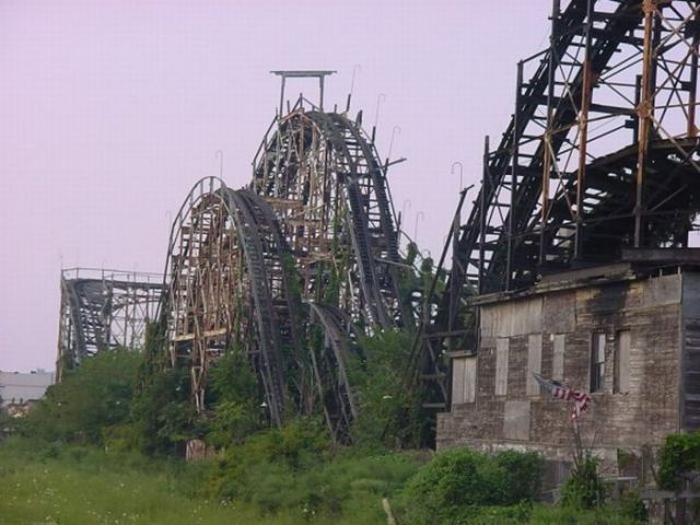 Creepy Abandoned Roller Coasters
