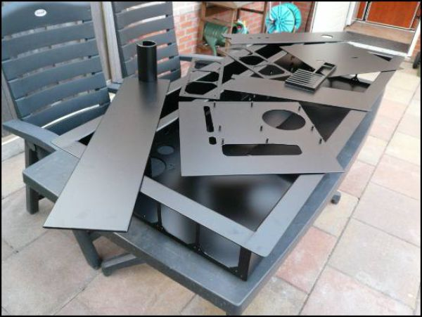 Incredible Custom Built Computer Desk Mod
