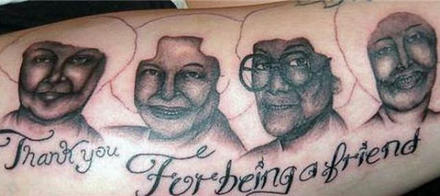 Weird Tattoos People Make