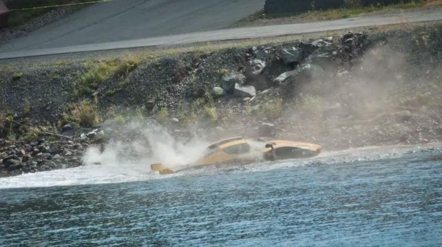 $1.5 Million Crashed into Ocean
