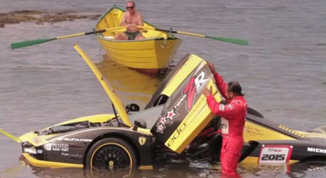 $1.5 Million Crashed into Ocean