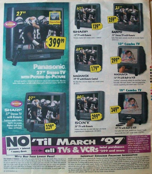Best Buy Ads 15 Years Ago