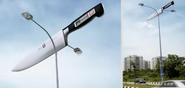 Genius Street Pole Advertising