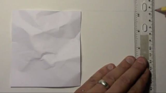 Awesome Realistic Drawing of a Piece of Paper [VIDEO]