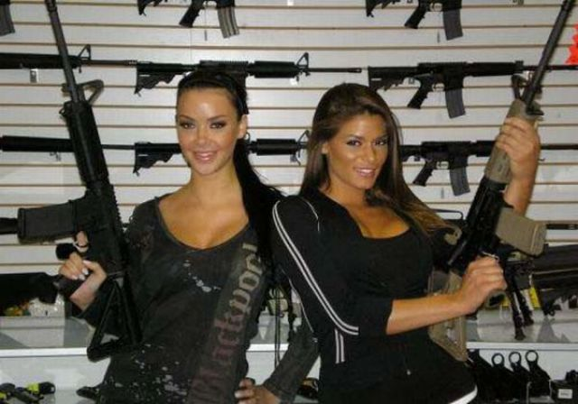 Girls with Guns - Could It Be Any Hotter?