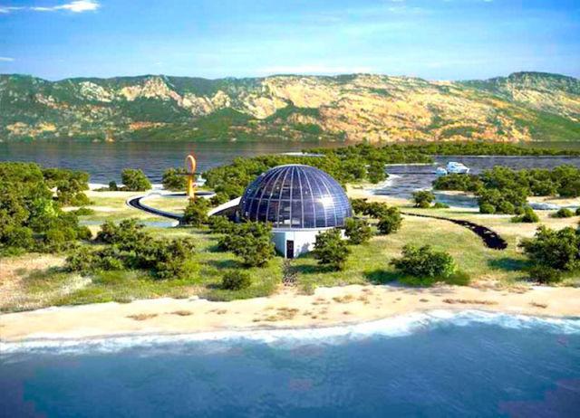 Naomi Campbell's Amazing Turkish Island Villa