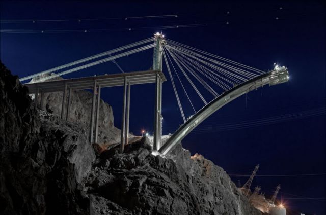 Awesome Hoover Dam Bypass Construction Photos