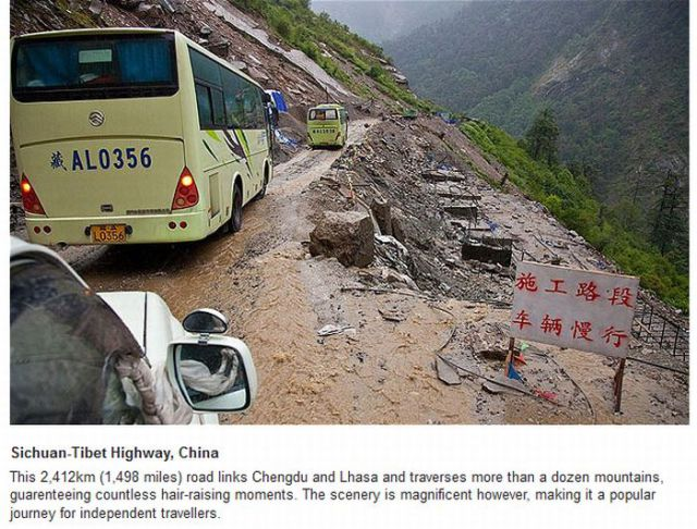 The Most Perilous Roads In the World