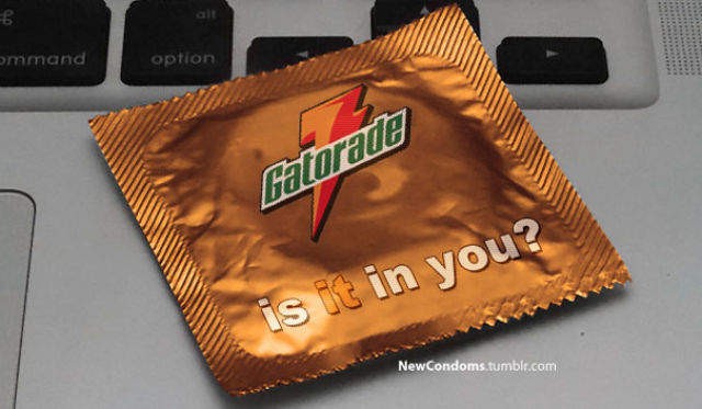 If the Slogans of Famous Brands Were Put on Condom Packages