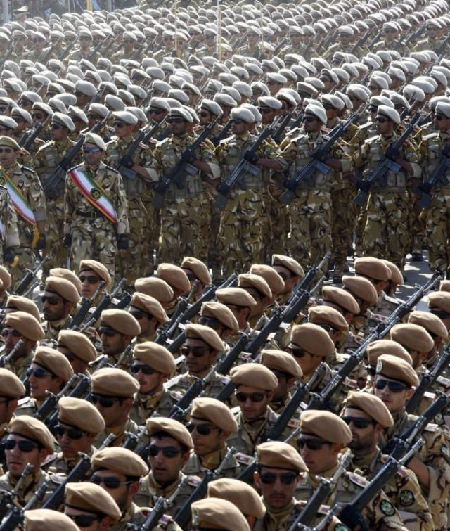 Parade in Iran to Celebrate Another Anniversary of Iran-Iraq War