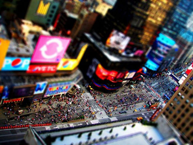 Amazing Tilt-Shift Photography