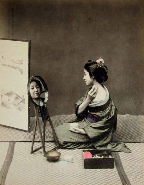 Retro Photos of Japanese Geisha Girls