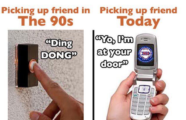 Flashback: '90s vs. Present Day