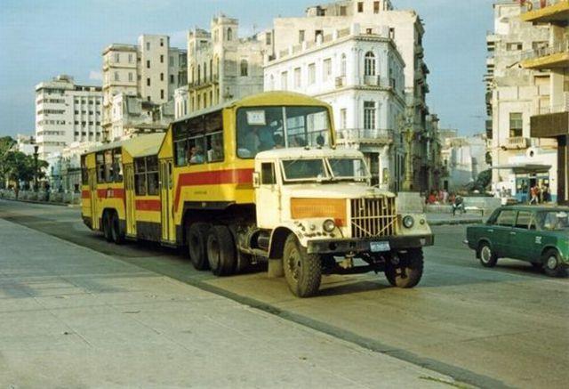 Cuban Public Transportation System