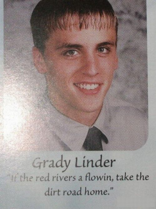 Funny and WTF Quotes in Yearbooks