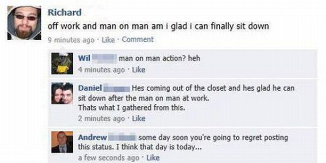 Some Idiotic Conversations on Facebook