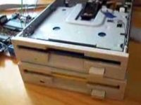Dual Floppy Drive Imperial March