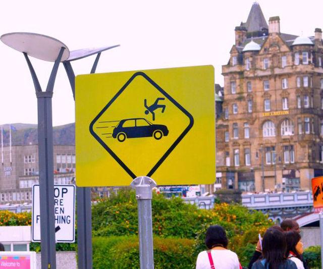 Bizarre Real Life Road Signs
