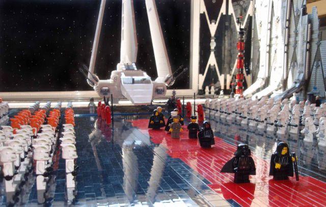 Amazing Lego Star Wars Scene