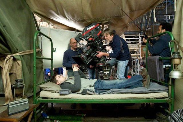 Awesome Behind-the-Scenes Harry Potter Photos