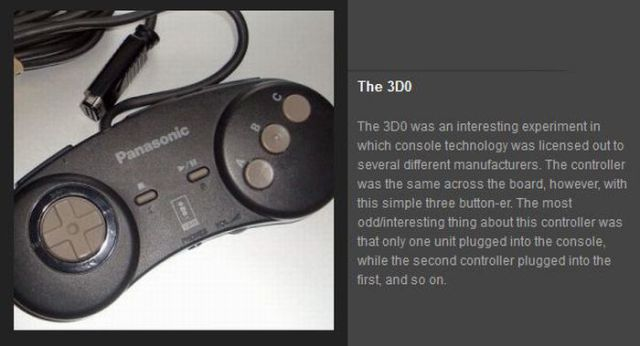 Game Controllers Evolution