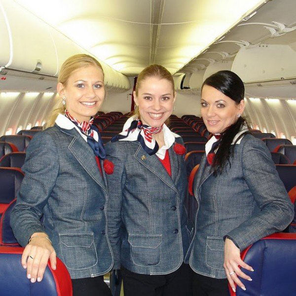 Stewardesses from All Over the World