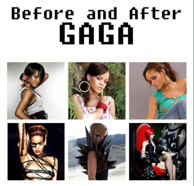 The Gaga Effect: Popstars Going Full Gaga
