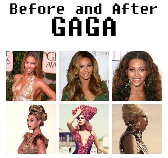 The Gaga Effect: Popstars Going Full Gaga