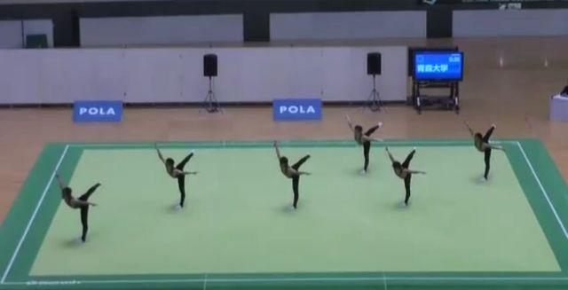Amazing Japanese Synchronised Gymnastics [VIDEO]
