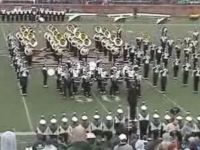 Marching Band Performs The Party Rock Anthem at Halftime