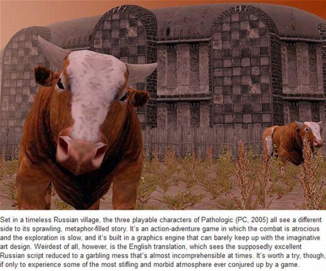 Strange PC Games