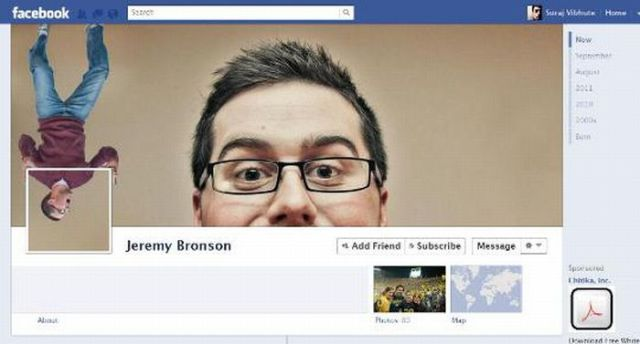 Facebook Fun Hack Profiles. Part 2
