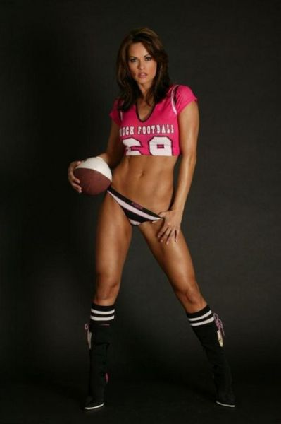 Famous and Beautiful Women Wearing Sports Jerseys