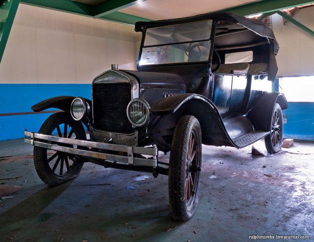 Abandoned Vintage Car Museum