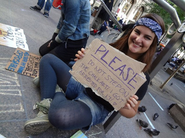 Classic Occupy Wall Street Protest Signs