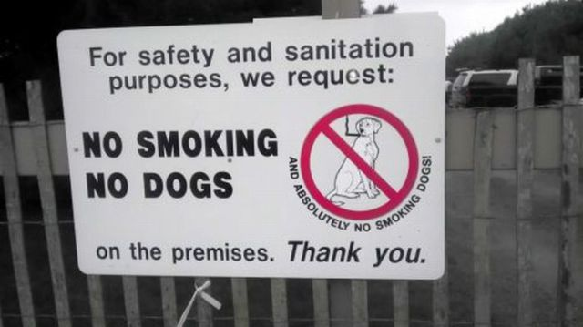 Hilarious But Real Public Signs