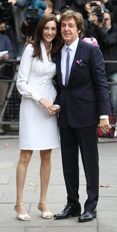 A Former Beatle and his Wife