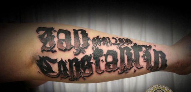 Awesome Letter Tattoos