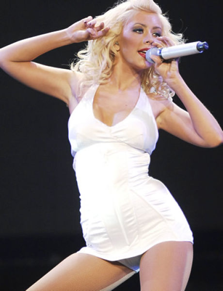 Christina aguilera hottest