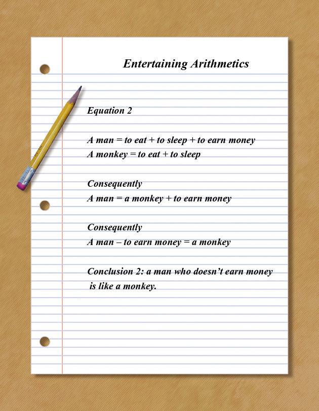 Humorous Arithmetics