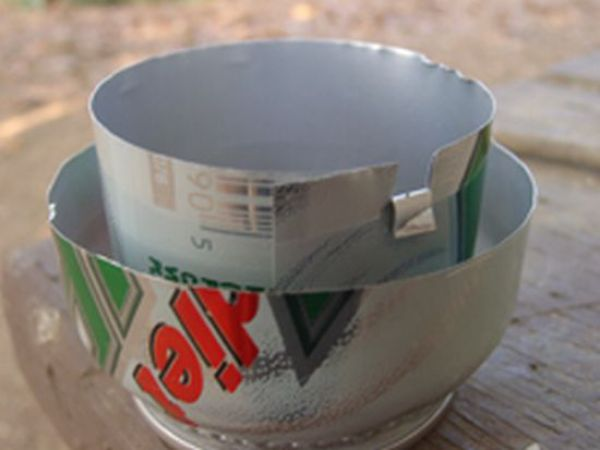 A Camping Stove From a Can